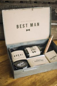 best man gift set